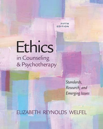9780840028587: Ethics in Counseling & Psychotherapy