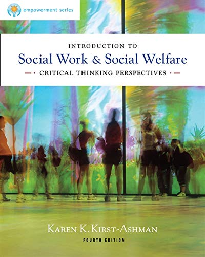9780840028662: Introduction to Social Work & Social Welfare: Critical Thinking Perspectives