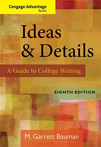 9780840028846: Ideas & Details: A Guide to College Writing