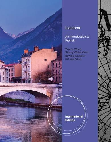9780840028884: Liaisons: An Introduction to French