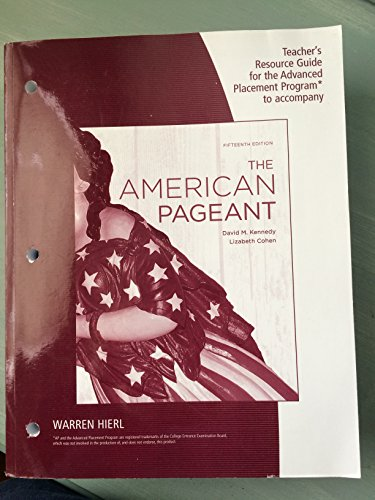 9780840029034 Trg AP American Pageant 15e AbeBooks