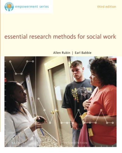 Brooks/Cole Empowerment Series: Essential Research Methods for Social Work (SW 385R Social Work Research Methods) (0840029136) by Allen Rubin; Earl R. Babbie