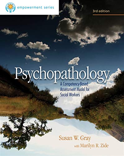 9780840029157: Brooks/Cole Empowerment Series: Psychopathology: A Competency-Based Assessment Model for Social Workers
