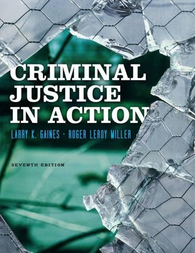 9780840029195: Criminal Justice in Action