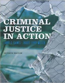 9780840029218: Aie Crim Justice in Action 7e