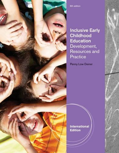 9780840029287: Inclusive Early Childhood Education: Development, Resources and Practice