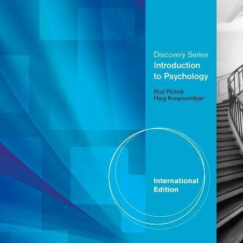 9780840029362: Introduction to Psychology. Haig Kouyoumdjian, Rod Plotnik (Discovery)