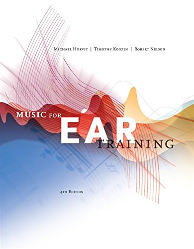 9780840029812: Music for Ear Training (with Premium Website Printed Access Card)