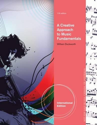9780840030290: A Creative Approach to Music Fundamentals, International Edition (with Music CourseMate with eBook Printed Access Card, Intl. Edition)