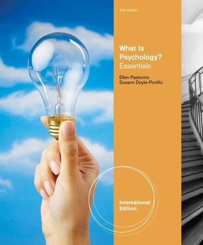 9780840030832: What is Psychology?: Essentials, International Edition