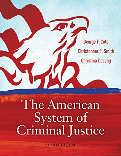9780840030849: Cengage Advantage Books: The American System of Criminal Justice