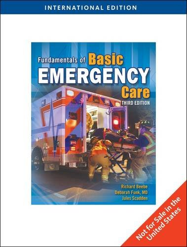 9780840031068: Fundamentals of Basic Emergency Care, International Edition