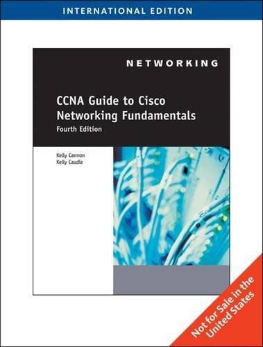 9780840031198: CCNA Guide to Cisco Networking Fundamentals, International Edition