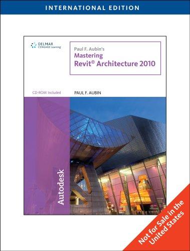9780840031235: Paul F. Aubin's Mastering Revit Architecture 2010, International Edition
