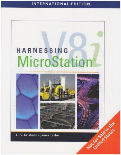 9780840031266: Harnessing Microstation V8i