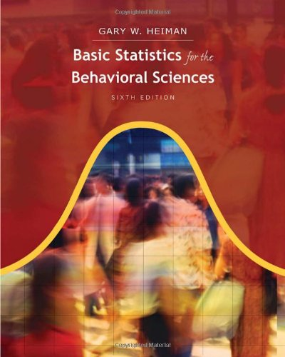 9780840031433: Basic Statistics for the Behavioral Sciences, 6th Edition