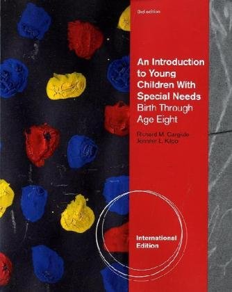 9780840031778: Young Children with Special Needs, International Edition