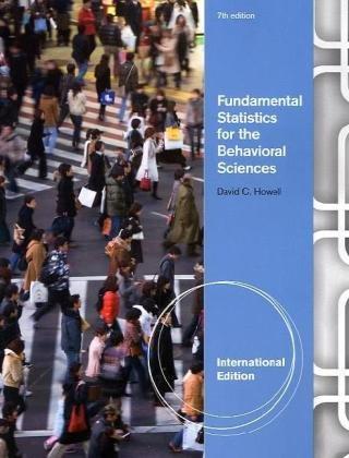 9780840031921: Fundamental Statistics for the Behavioral Sciences