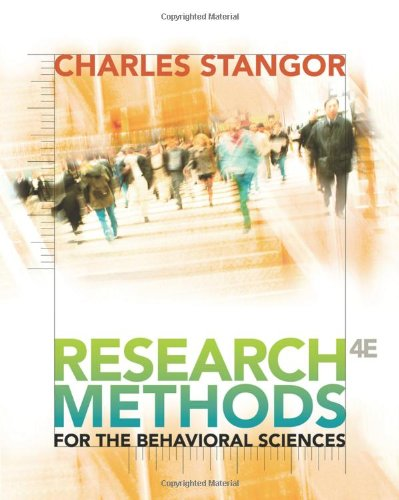 9780840031976: Research Methods for the Behavioral Sciences (PSY 200 (300) Quantitative Methods in Psychology)
