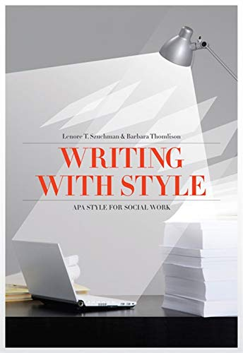 9780840031983: Writing with Style: APA Style for Social Work (Social Work Research Methods / Writing / Evaluation)
