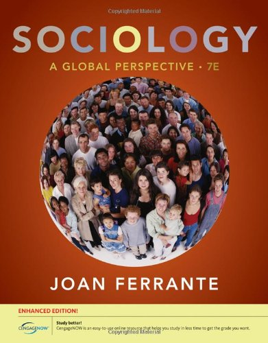 9780840032041: Sociology: A Global Perspective, Enhanced (Available Titles CourseMate)
