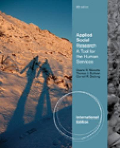 9780840032065: Applied Social Research