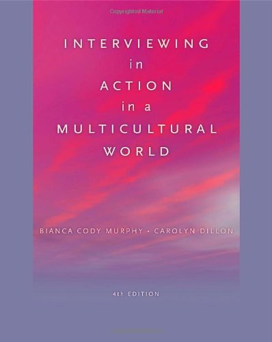 9780840032096: Interviewing in Action in a Multicultural World (Book Only) (HSE 123 Interviewing Techniques)