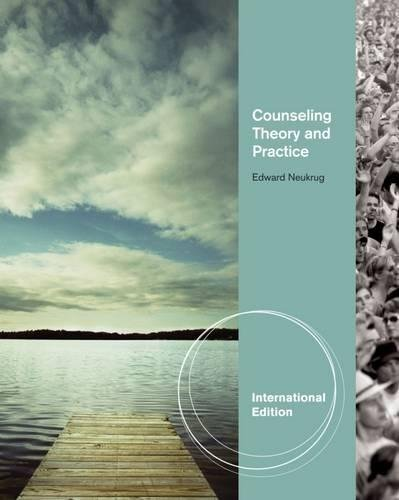 9780840032126: Counseling Theory And Practice