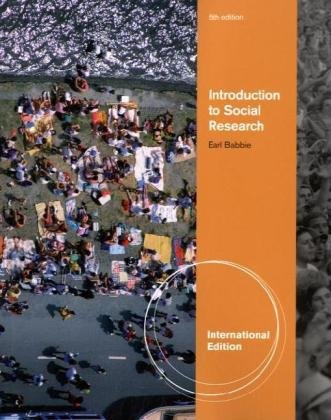 Introduction to Social Research (084003220X) by Babbie, Earl