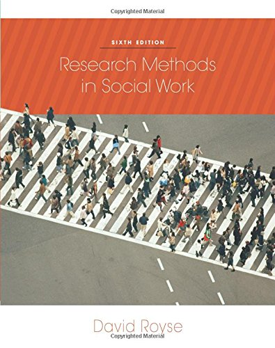 9780840032270: Research Methods in Social Work, 6th Edition