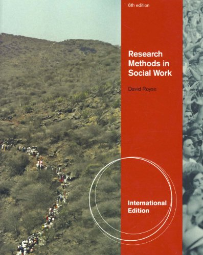 9780840032287: Research Methods in Social Work