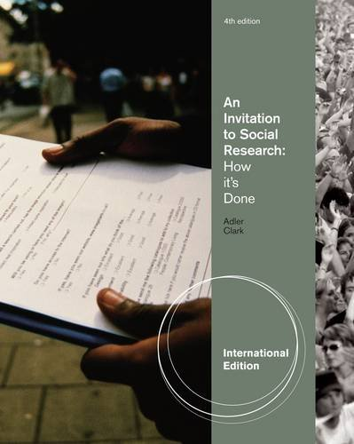 9780840032386: An Invitation to Social Research