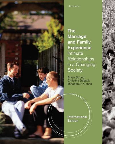 9780840032485: The Marriage and Family Experience: Intimate Relationships in a Changing Society