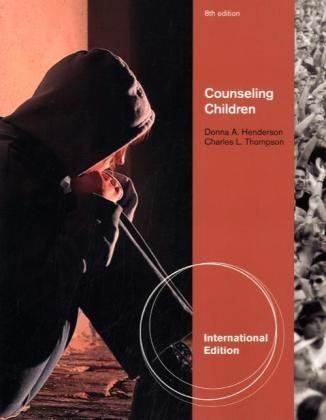 9780840032607: Counseling Children