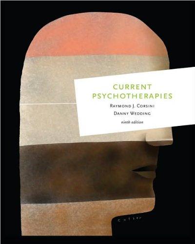 9780840032614: R. J. Corsini's,D. Wedding's 9th(ninth) edition (Current Psychotherapies [Paperback])(2010)