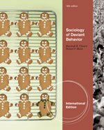 9780840032638: Sociology of Deviant Behavior