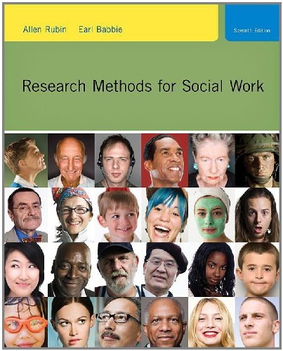 9780840032690: Practice-Oriented Study Guide for Rubin/Babbie's Research Methods for Social Work