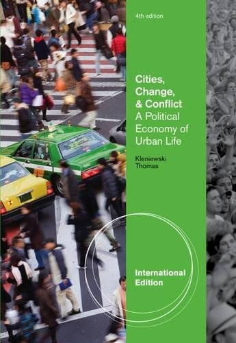 9780840032713: Cities, Change, and Conflict, International Edition