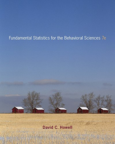 9780840032973: Cengage Advantage Books: Fundamental Statistics for the Behavioral Sciences