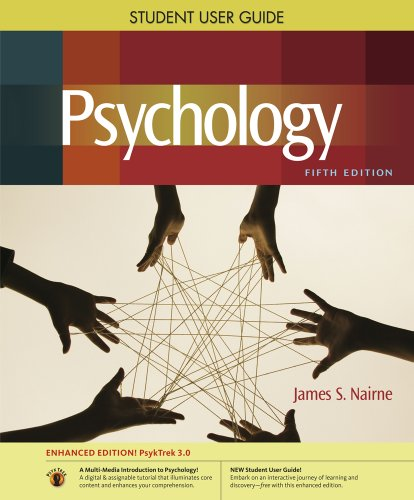 9780840033093: Student User Guide with Printed Access Card for Psychology Psytrek 3.0, Enhanced Edition