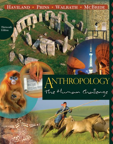 9780840033314: Cengage Advantage Books: Anthropology: The Human Challenge