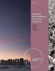 9780840033338: Evolution And Prehistory: The Human Challenge, 9 Ed