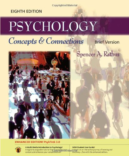 Psychology: Concepts & Connections, Brief Edition: PsykTrek: Spencer A. Rathus