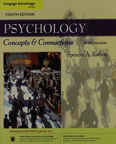 9780840033475: Cengage Advantage Books: Psychology: Concepts & Connections, Brief Version (with Psyktrek 3.0 Enhanced Edition)