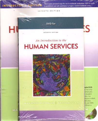 9780840033727: An Introduction to the Human Services (Includes DVD)