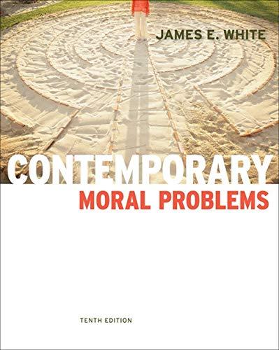 9780840033789: Contemporary Moral Problems