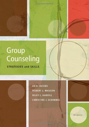 9780840033932: Group Counseling: Strategies and Skills, 7th Edition (SAB 220 Group Techniques/Therapy)