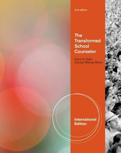 9780840034069: The Transformed School Counselor