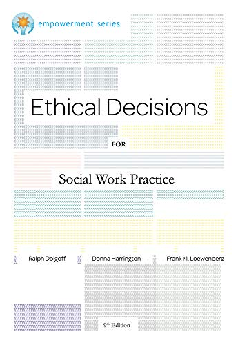 9780840034106: Brooks/Cole Empowerment Series: Ethical Decisions for Social Work Practice (Ethics & Legal Issues)