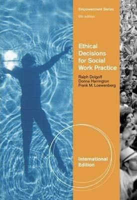 9780840034113: Ethical Decisions for Social Work Practice (International Edition)